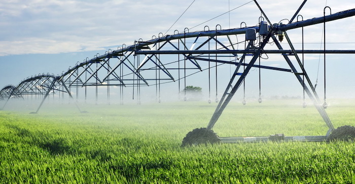 Irrigation equipment in Saskatchewan