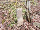 Surveyor's stone marker