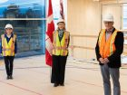 Support for Fast + Epp mass-timber office