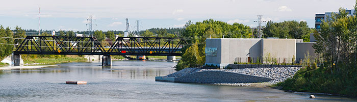 Red Deer water treatment plant